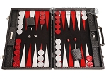 picture of Hector Saxe Cosmos Linen Backgammon Set - Black (1 of 12)