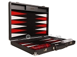 picture of Hector Saxe Cosmos Linen Backgammon Set - Black (10 of 12)