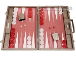 picture of Hector Saxe Cosmos Linen Backgammon Set - Taupe (1 of 12)
