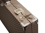 picture of Hector Saxe Cosmos Linen Backgammon Set - Taupe (12 of 12)