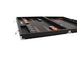 picture of Hector Saxe Arizona Leather Backgammon Set - Black (5 of 6)
