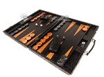 picture of Hector Saxe Arizona Leather Backgammon Set - Black (3 of 12)