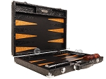 picture of Hector Saxe Arizona Leather Backgammon Set - Black (10 of 12)