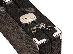 picture of Hector Saxe Arizona Leather Backgammon Set - Black (12 of 12)