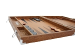 picture of Hector Saxe Arizona Leather Backgammon Set - Cognac (5 of 6)