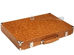 picture of Hector Saxe Arizona Leather Backgammon Set - Cognac (11 of 12)