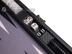 picture of Hector Saxe Carbon Linen/Felt Travel Backgammon Set - Black (7 of 12)
