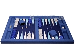 picture of Hector Saxe Faux Snake Tabletop Backgammon Set - Blue (4 of 11)