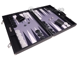 picture of Hector Saxe Carbon Linen/Felt Backgammon Set - Black (2 of 12)