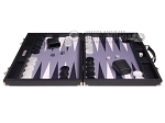 picture of Hector Saxe Carbon Linen/Felt Backgammon Set - Black (4 of 12)