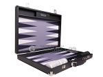 picture of Hector Saxe Carbon Linen/Felt Backgammon Set - Black (10 of 12)