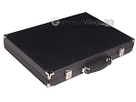 picture of Hector Saxe Carbon Linen/Felt Backgammon Set - Black (11 of 12)