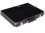 picture of Hector Saxe Croco Leather Backgammon Set - Black - Oriflamme II (11 of 12)