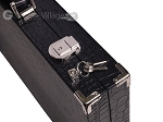 picture of Hector Saxe Croco Leather Backgammon Set - Black - Oriflamme II (12 of 12)