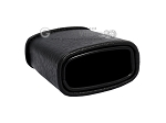 picture of Leather Backgammon Dice Cup - Oval - Black (3 of 3)