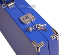 picture of Hector Saxe Leatherette Backgammon Set - Pacific Blue (12 of 12)
