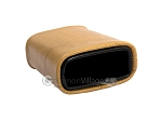 picture of Leatherette Backgammon Dice Cup - Oval - Beige (2 of 2)