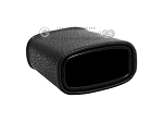 picture of Leatherette Backgammon Dice Cup - Oval - Black (2 of 2)