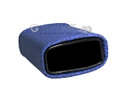 picture of Leatherette Backgammon Dice Cup - Oval - Blue (2 of 2)