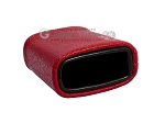 picture of Leatherette Backgammon Dice Cup - Oval - Red (2 of 2)