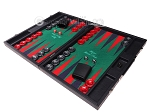 picture of Hector Saxe Faux Leather Backgammon Set - Green Field (3 of 12)