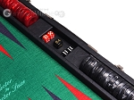 picture of Hector Saxe Faux Leather Backgammon Set - Green Field (7 of 12)