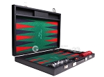 picture of Hector Saxe Faux Leather Backgammon Set - Green Field (10 of 12)