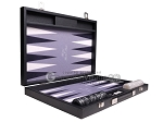 picture of Hector Saxe Faux Leather Backgammon Set - Grey Field (10 of 12)