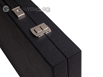 picture of Hector Saxe Faux Leather Backgammon Set - Grey Field (12 of 12)