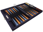 picture of Hector Saxe Denim Travel Backgammon Set - Dark Blue (10 of 12)