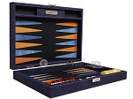 picture of Hector Saxe Denim Travel Backgammon Set - Dark Blue (11 of 12)