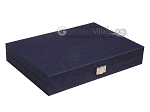 picture of Hector Saxe Denim Travel Backgammon Set - Dark Blue (12 of 12)