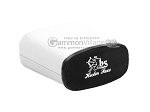 picture of Leather Backgammon Dice Cup - Oval - White (2 of 3)