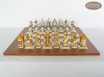 picture of The Battle of Kazan Chessmen with Spanish Traditional Chess Board [Extra Large] (3 of 7)