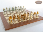 picture of The Battle of Kazan Chessmen with Spanish Traditional Chess Board [Extra Large] (4 of 7)