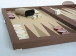 picture of Dal Negro Backgammon Set - Brown Cialux (5 of 9)