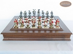 picture of Magnificent Chessmen with Italian Alabaster Chess Board with Storage (4 of 9)