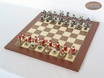 picture of Magnificent Chessmen with Spanish Traditional Chess Board [Large] (2 of 8)