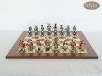 picture of Magnificent Chessmen with Spanish Traditional Chess Board [Large] (4 of 8)