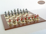 picture of Magnificent Chessmen with Spanish Traditional Chess Board [Large] (5 of 8)