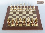 picture of Modern Italian Staunton Chessmen with Spanish Traditional Chess Board [Small] (3 of 7)