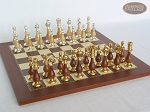 picture of Modern Italian Staunton Chessmen with Spanish Traditional Chess Board [Small] (5 of 7)
