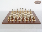 picture of Champion Brass Staunton Chessmen with Spanish Traditional Chess Board [Large] (4 of 7)