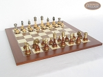 picture of Champion Brass Staunton Chessmen with Spanish Traditional Chess Board [Large] (5 of 7)