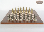 picture of French Heritage Chessmen with Italian Lacquered Chess Board [Wood] (4 of 7)