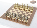 picture of The Aristocratic Chessmen with Spanish Lacquered Chess Board [Wood] (2 of 6)