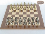 picture of The Aristocratic Chessmen with Spanish Lacquered Chess Board [Wood] (3 of 6)