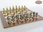 picture of The Aristocratic Chessmen with Spanish Lacquered Chess Board [Wood] (4 of 6)