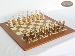The Grand Chessmen II with Spanish Traditional Chess Board [Extra Large] - Item: 948