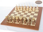 The Grand Chessmen II with Spanish Traditional Chess Board [Extra Large]